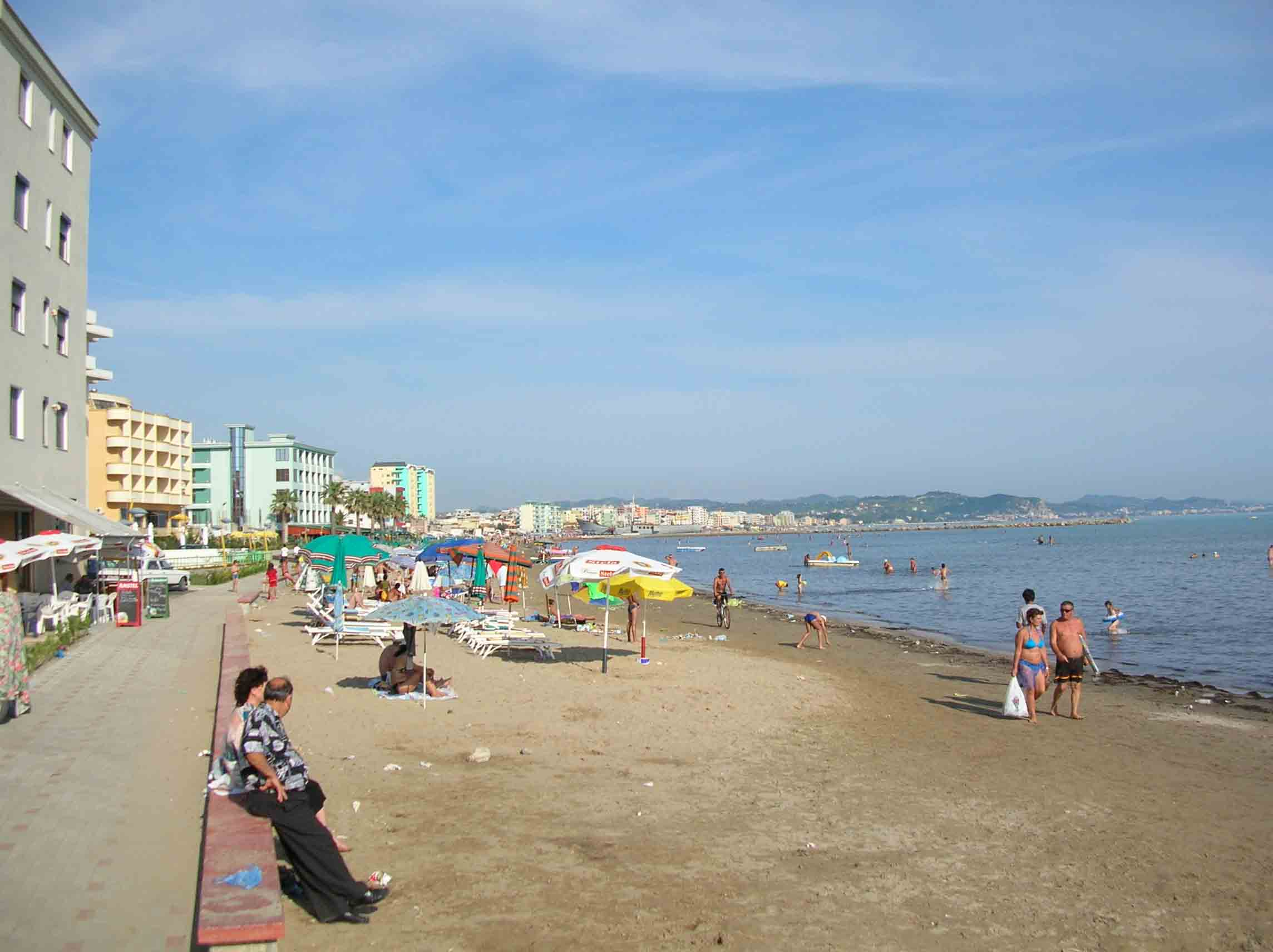 Albanien Hotel Strand