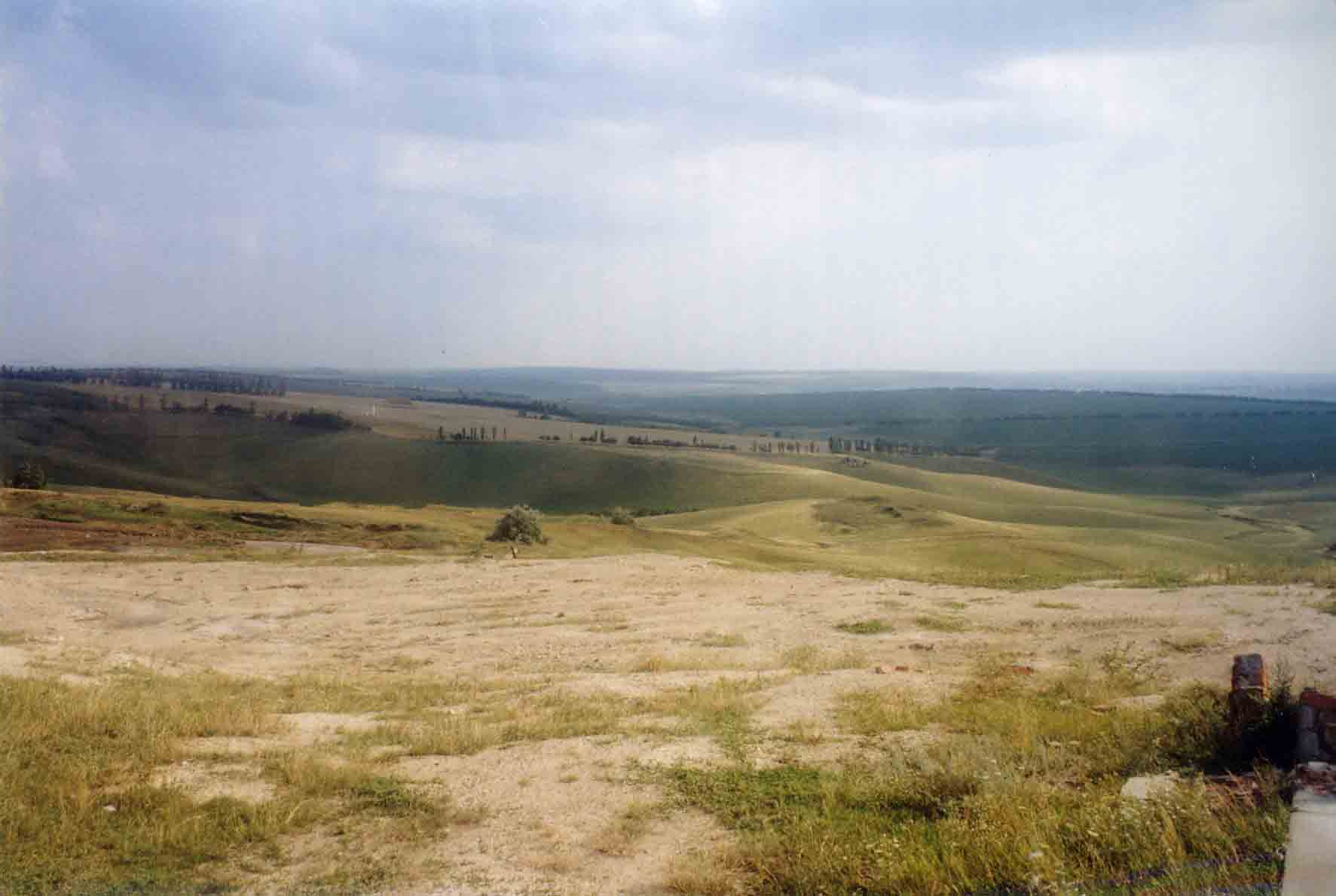 Landschaft in moldawien (republik moldau, republica moldova)